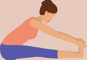 Paschimottanasana - Shakti Yoga Peeth